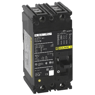 FA, FH, FJ, FK, FY (F-frame) molded case circuit breakers and switches