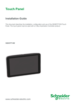 5000ETP10W Touch Panel Installation Guide