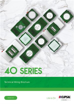 BROCHURE - 40 Series Technical Wiring