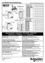 Instruction sheet LE1E