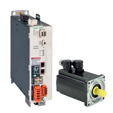 Stand alone servo drives and servo motors for PacDrive 3