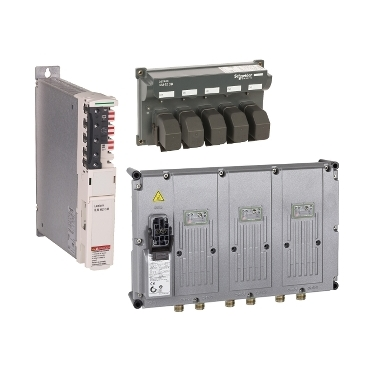 Detached servo drives and motors for PacDrive 3 automation solutions