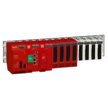 Modicon M580 Safety configuration with a mix of standard X80 & Safety I/O