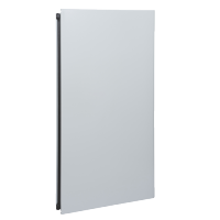Plain left door Spacial S3D H1400xW500 RAL 7035