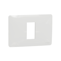 New Unica - cover frame - 1 gang - 1 module - white