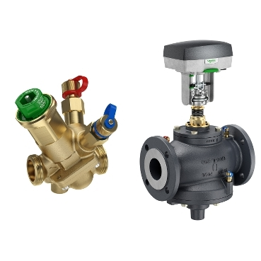 Schneider Electric's comprehensive global offer of PIBCV valves and valve actuators deliver optimal performance, reliability, energy efficiency and comfort in a wide variety of HVAC applications.