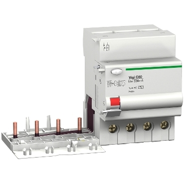 VigiC60-Din rail add-on vigi for C60 MCBs,4 poles