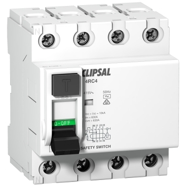 RCD commercial 4P 4 modules; Max 4; Clipsal