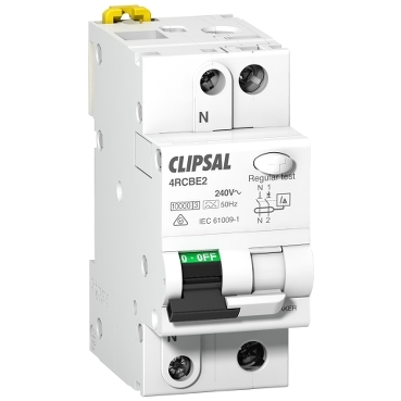 RCBO ELM SI type commercial 1PN 2 modules; Max 4; Clipsal