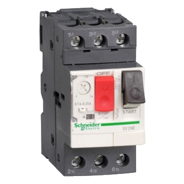 Thermal-magnetic motor circuit-breakers TeSys GV2ME  screw clamp terminals or lugs