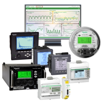 Power management systems designed to help manage real-time conditions, isolate problems, study trends, and control loads and generators.
