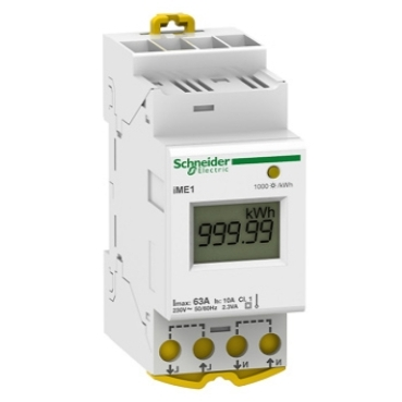 DIN-rail energy meters for single-phase circuits up to 63A
