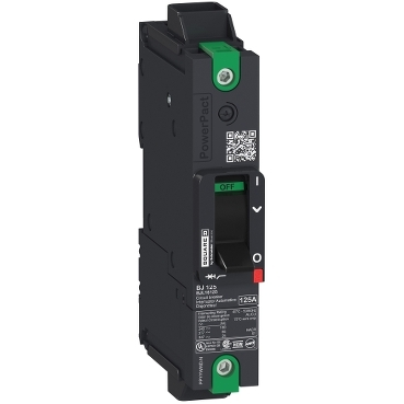 PowerPact B Multistandard molded case circuit breaker (MCCB) 1-pole