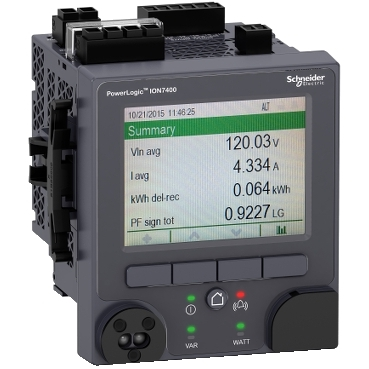 Compact energy and power quality meters for utility feeders or critical loads