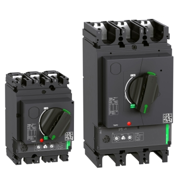 Reliable and robust motor circuit breaker, from 150A to 500A with advanced electronic protections.