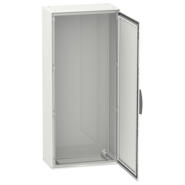 Steel floor-standing compact enclosures