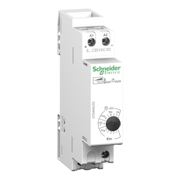 Dimmers range on DIN rail