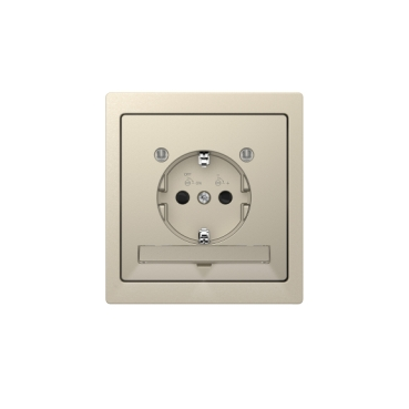 D-Life, sahara with Soket-outlet with orientation light