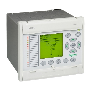 MiCOM C264 40TE size with HMI