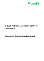 SECB-OTH-03-1.0 - Consultant Specification Document