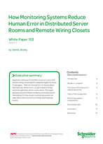 How Monitoring Systems Reduce Human Error in Distributed Server Rooms and Remote Wiring Closets