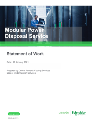 Modular Power Disposal Service