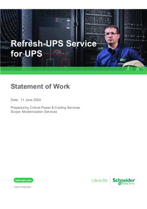 Refresh-UPS Service for UPS