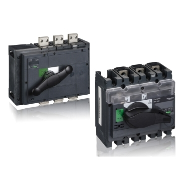 Switch disconnectors from 200 A to 2500 A