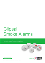 Clipsal Smoke Alarm Maintenance and Troubleshooting Guide