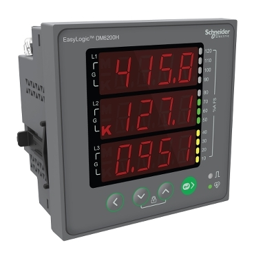 EasyLogic DM6x00H series VAF PF meters