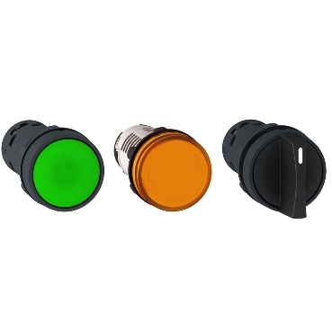 Harmony 22 mm XB7 Monolithic Push Buttons