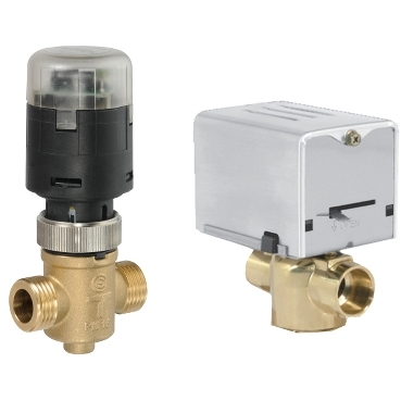 "Schneider Electric's global zone valves and valve actuators give customers performance, versatility and patented ""PopTop"" actuator technology that revolutionized the zone valve market."