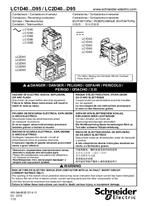 Instruction Sheet TeSys D