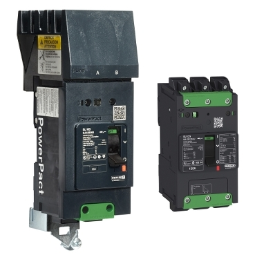 PowerPact B Frame Molded Case Circuit Breakers