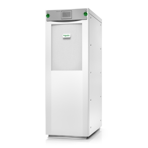 Galaxy VS UPS 100kW 400V with N+1 power module for external batteries, Start-up 5x8 Front Left