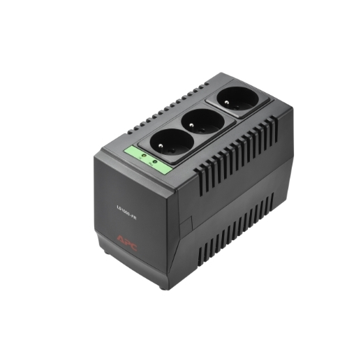 APC Line-R 1000VA Automatic Voltage Regulator, 3 OUTLETS, 230V French Africa Avant gauche