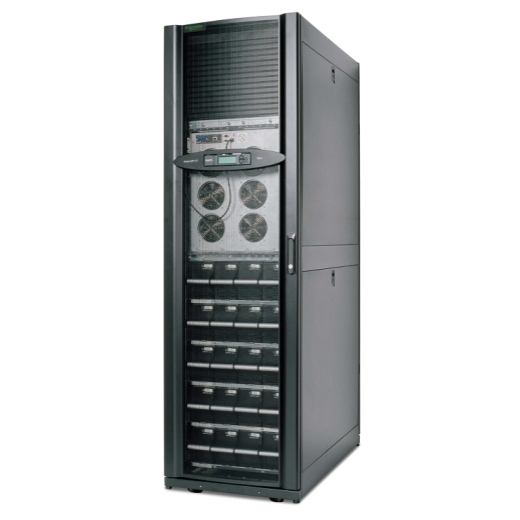 APC Smart-UPS VT rack mounted 30kVA 400V w/4 batt mod. exp. to 5, w/PDU & startup Front Left