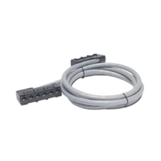 APC Data Distribution Cable, CAT5e UTP CMR Gray, 6xRJ-45 Jack to 6xRJ-45 Jack, 33ft (10,0m) Front Left
