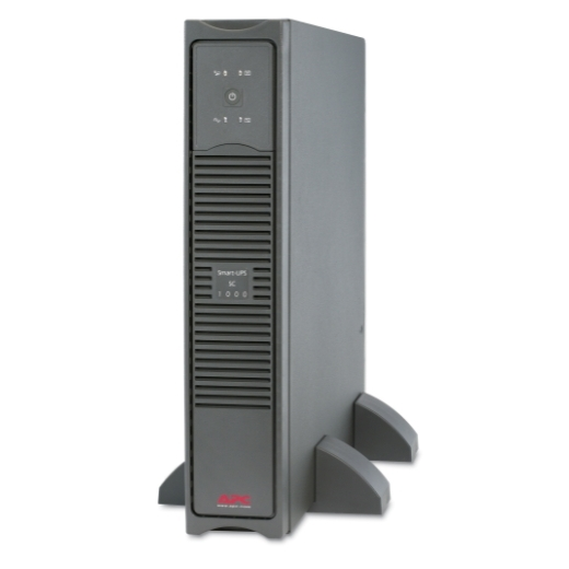 APC Smart-UPS SC 1000VA 230V - 2U Rackmount/Tower Front Left